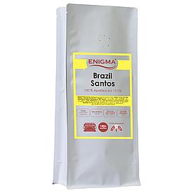 Кофе в зернах арабика Enigma™ Brasil Santos (1 кг)