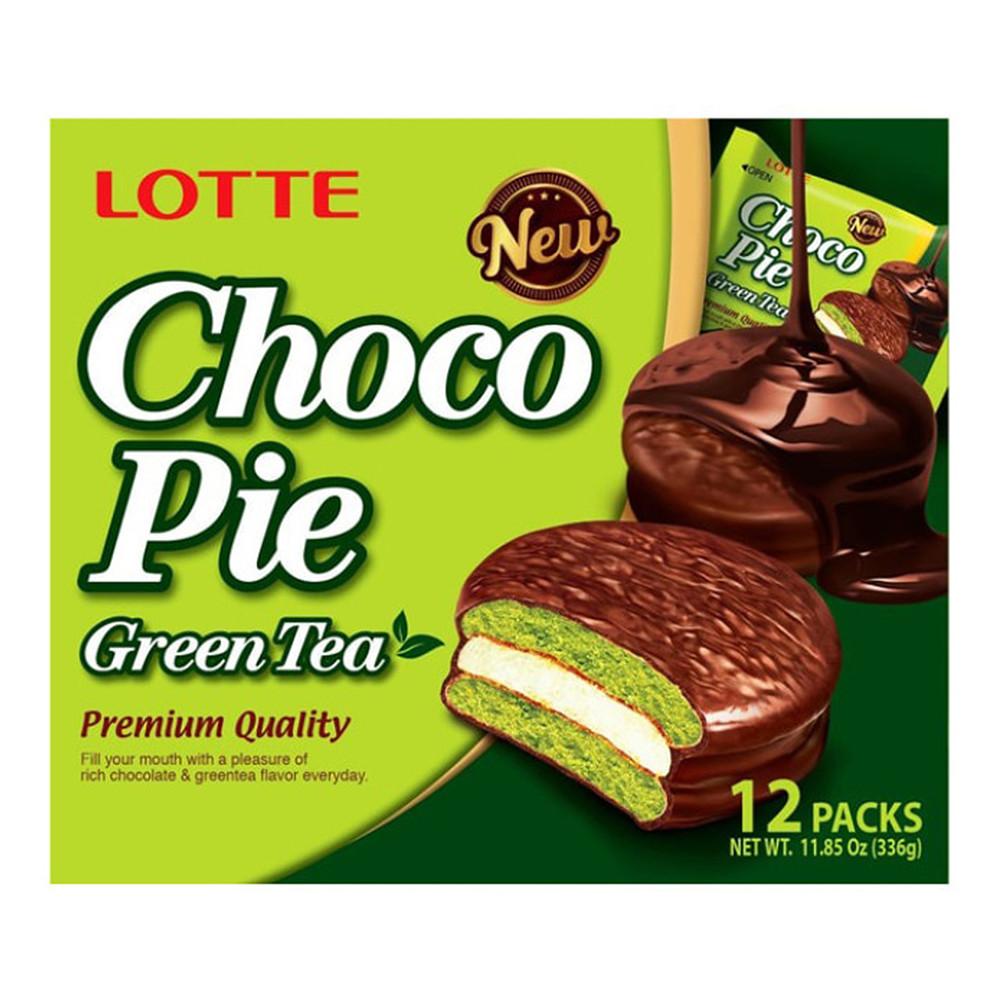 Печиво Choco Pie Green tea 336г, 8 шт/ящ_6202