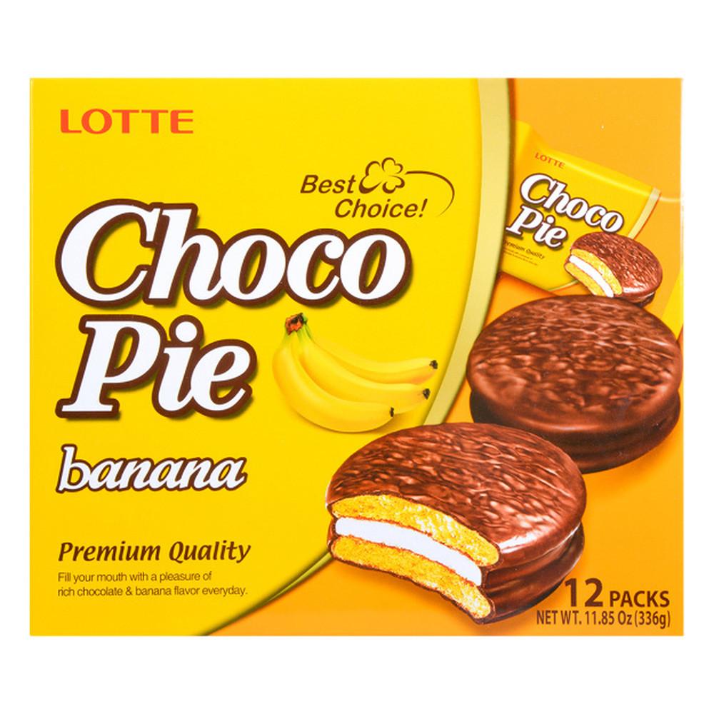 Печиво Choco Pie Banana 336г, 8 шт/ящ_0781