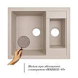 Кухонная мойка Lidz 615x500/200 MAR-07 (LIDZMAR07615500200), фото 3