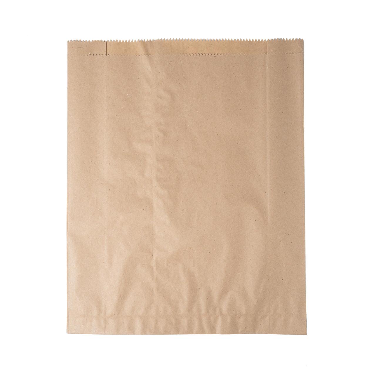 Бумажный пакет для хлеба и лаваша 300мм*110мм*400 бурый