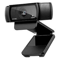 Веб-камера 2.0 Мп з мікрофоном Logitech HD Pro Webcam C920 Black