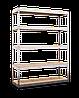 Стеллаж полочный МКП МКП402 на зацепах (2160х1200х700)