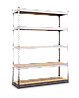 Стеллаж полочный МКП МКП406 на зацепах (3120х1800х500)