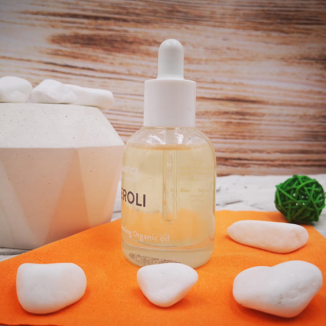 Масло для тусклой кожи с нероли Organic Neroli Brightening Facial Oil