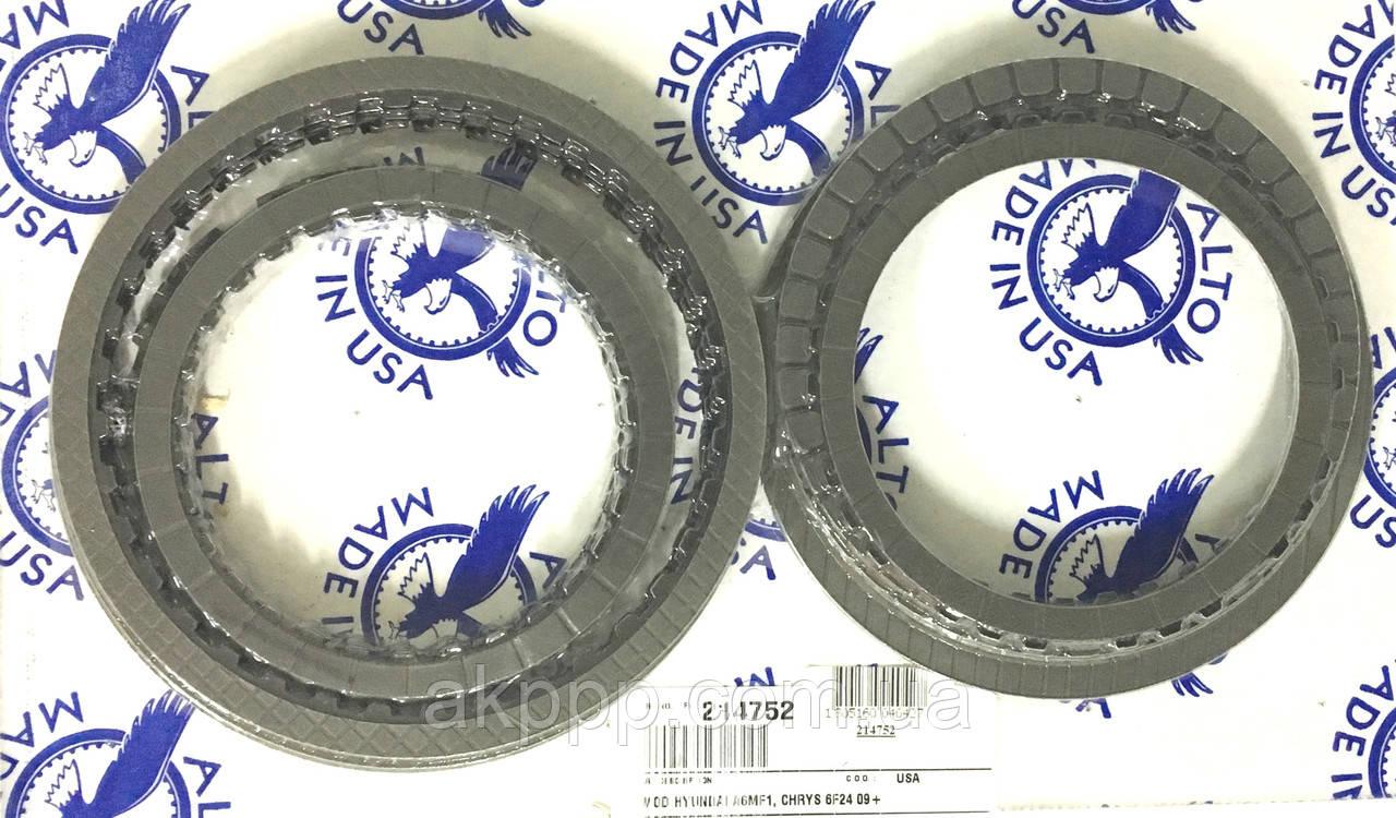 Комплект дисків зчеплення акпп A6MF1,A6MF2