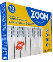 Радиатор ZOOM 500x100 (500/96) биметаллический