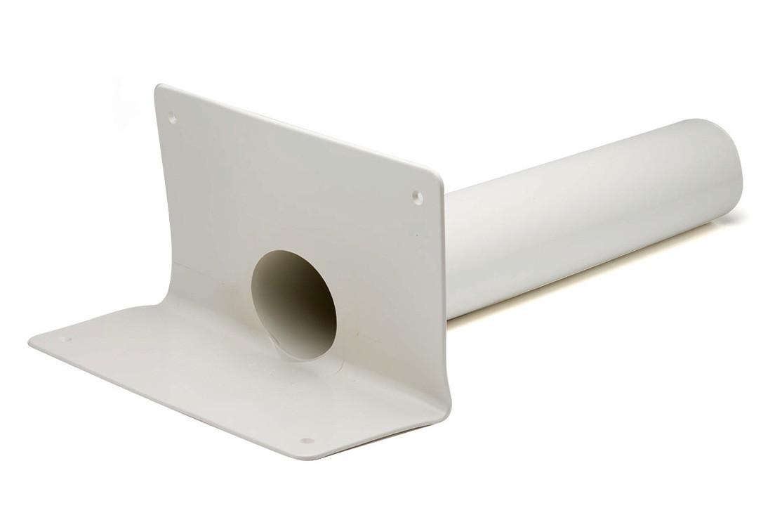 Воронка ПВХ Impertek ф125 L500 мм переливная парапетная для ПВХ мембран