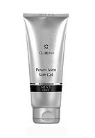 Смягчающий, очищающий гель для умывания Clarena Power Men Soft Gel