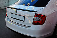 Спойлер крышки багажника Skoda Rapid 2012-