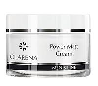 Матирующий мужской крем Clarena  Power Matt Cream