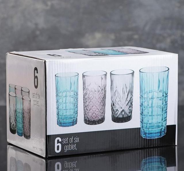 Подарункові набори високих стаканів