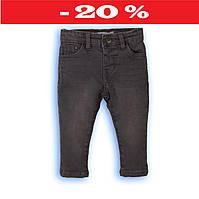 Детские джинсы для мальчика, скинни серые