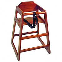 Стул для детей деревянный цвета красного дерева Pro Master арт.10203