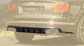 MANSORY rear diffusser for Bentley Bentayga