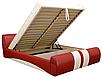 Мягкая кровать Драйв 160 Вика (с матрасом), фото 2