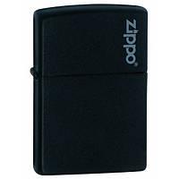 Запальничка Зиппо: Zippo Black Matte with Zippo Logo
