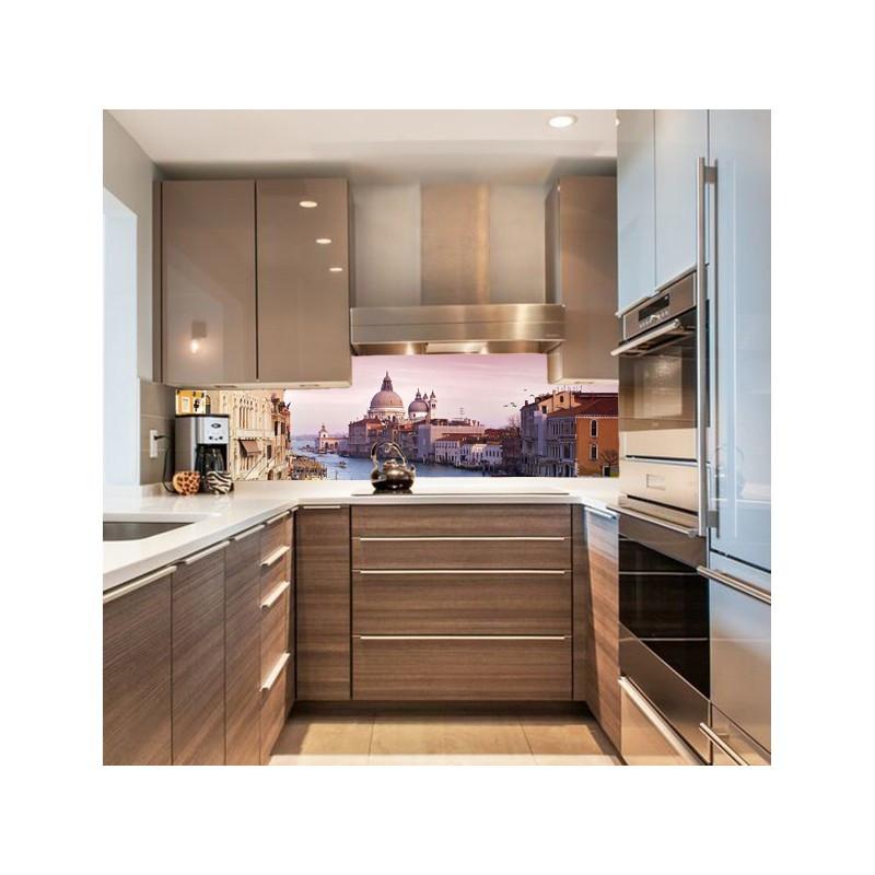 """Скіналі Кухонний  фартух  """"Гранд-канал. Венеція""""  Виготовимо під ваш розмір"""