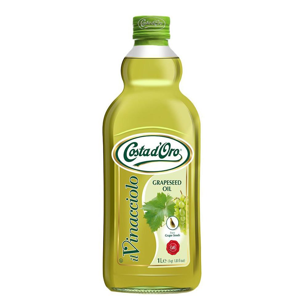 Олія з виноградних кісточок Costa d'Oro Grapeseed 1л, 8шт/ящ _L111792