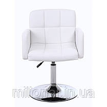 Кресло хокер Bonro B-869-1 белое, фото 3