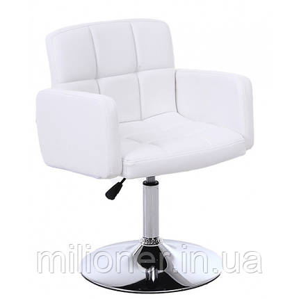Кресло хокер Bonro B-869-1 белое, фото 2