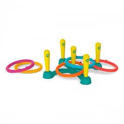 Игровой набор - кольцеброс: ЛОВЕЦ КОЛЕЦ (5 колец, стойка)