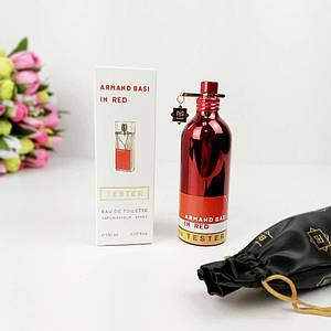 Женская парфюмированная вода Armand Basy In Red 150 мл копия