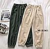 Женские вельветовые штаны 2380 (42-44; 44-46) (цвета: бежевый, хаки, черный) СП