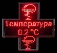Аптечный крест 960*320 ДВУХСТОРОННИЙ (Красный), фото 1