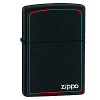 Zippo 218 ZB CLASSIC black matte with zippo