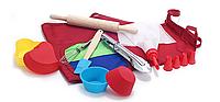 Набор детский для выпечки Молодой Повар 10 предметов 550-150