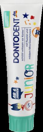 Зубная паста Dontodent Junior Zahnpaste, 100мл