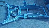 Кронштейн фари DAF XF105 XF95 кріплення фари ДАФ ХФ105 ХФ95 тримач фари павук, фото 7