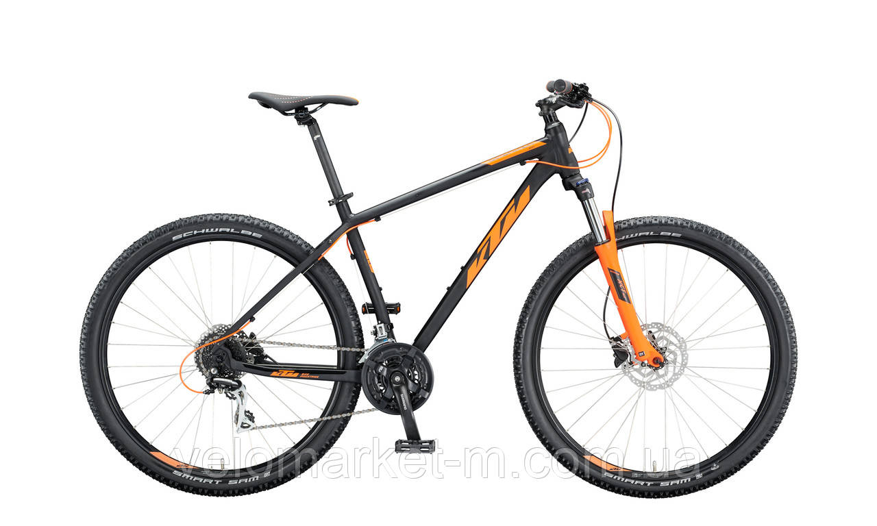 """Велосипед KTM CHICAGO DISC 29"""", рама L, черно-оранжевый , 2020"""