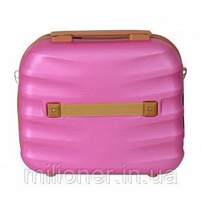 Сумка кейс саквояж Bonro Next (средний) розовый, фото 2