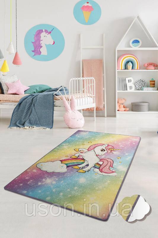Купить Коврик в детскую комнату Chilai Home Unicorn 140*190