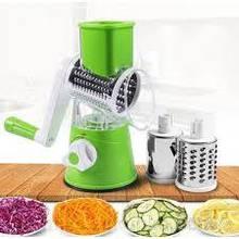 Овощерезка мультислайсер Tabletop Drum Grater Kitchen Master Терка для овощей и фруктов 3 насадки
