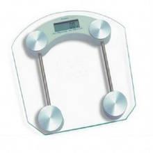 Напольные бытовые весы Domotec электронные квадратные стекло до 180 кг