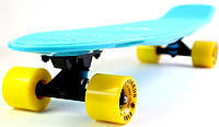 "Penny Board пенниборд Original Nickel ""Fish"" Light blue, фото 1"