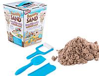 Кинетический песок Squishy Sand для детского творчества