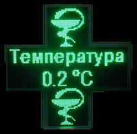 Аптечный крест 960*320 ОДНОСТОРОННИЙ (Зеленый), фото 1