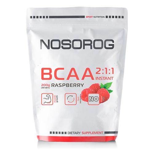 Nosorog BCAA 2:1:1 малина, 200 гр