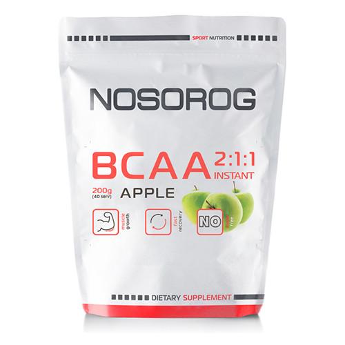 Nosorog BCAA 2:1:1 яблоко, 200 гр