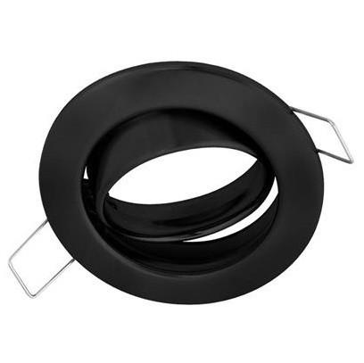 Точечный светильник спот MR16 черный поворотный