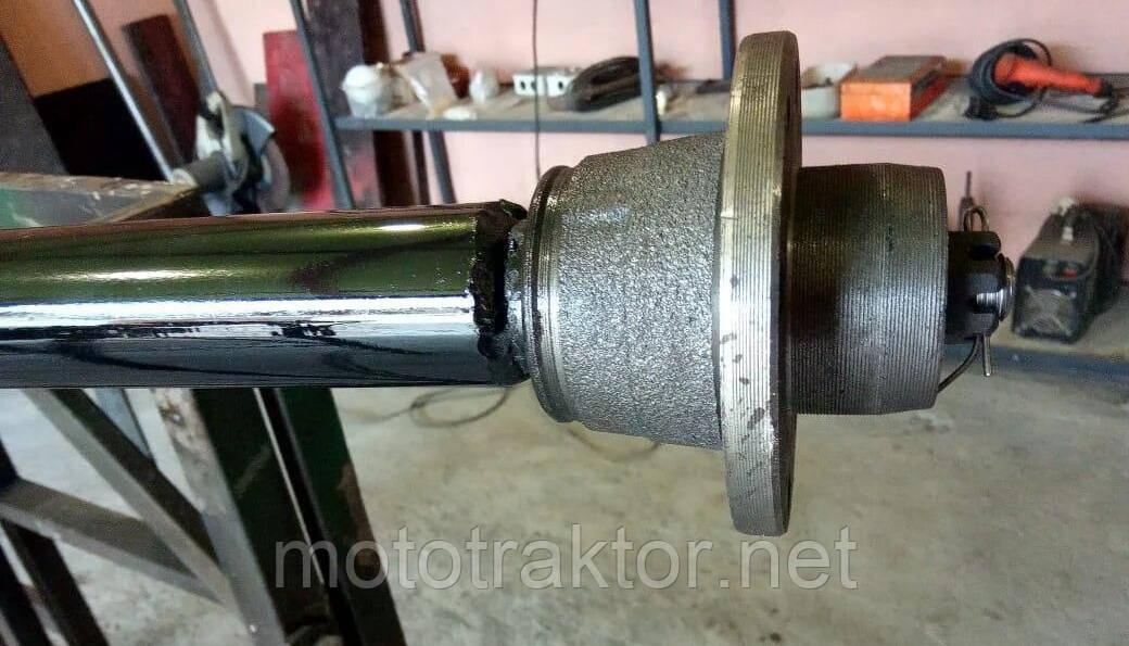 Балка для причепа посилена з шплинтоваными маточинами під жигулівське колесо АТВ-140(01Р)