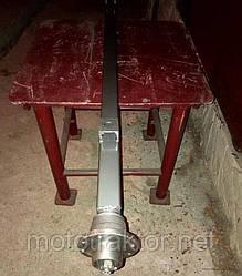 Балка для причепа квадратна, посилена (товщина 6 мм) з маточинами шплинтованными АТВ-155 (01Р)