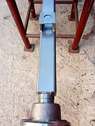 Балка для причепа квадратна, посилена (6 мм) з маточинами ВАЗ 2108 під жигулівське колесо АТВ-155 (08Р)