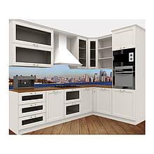 """Скіналі  Кухонний фартух """"Нью-Йорк""""   Виготовимо під ваш розмір"""