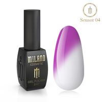 Гель-лак Milano Sensor №04⭐⭐⭐⭐⭐