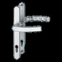 Нажимной гарнитур HOPPE Liege Льеж для дверей толщиной 57-62 мм E-92 мм цвет белый